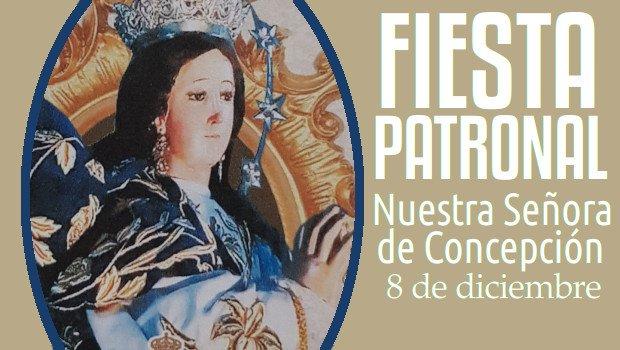 Programa Fiesta Patronal – Nuestra Señora de Concepción
