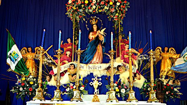¿Qué causa tanta alegría? ¡La Inmaculada Concepción de María!