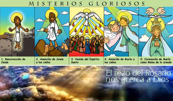 El Santo Rosario: Misterios Gloriosos