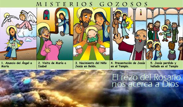 El Santo Rosario: Misterios Gozosos