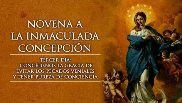 Día 3 – Novena a la Inmaculada Concepción de María