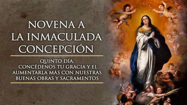 Día 5 – Novena a la Inmaculada Concepción de María