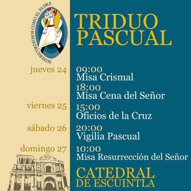 Triduo Pascual 2016