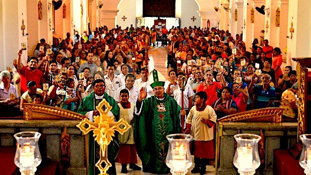 Visita Pastoral: Catedral Diocesana de Escuintla