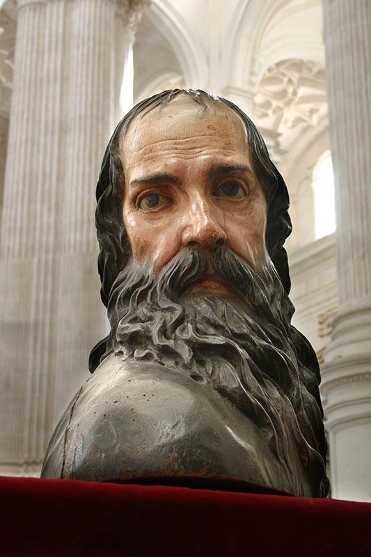 SAN PABLO: DE FRENTE Alonso Cano (1601-1667)
