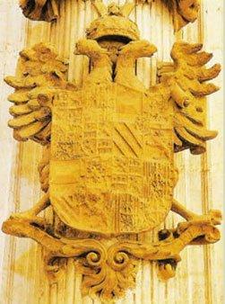 ESCUDO DEL EMPERADOR CARLOS I DE ESPAÑA Cláusula de su testamento
