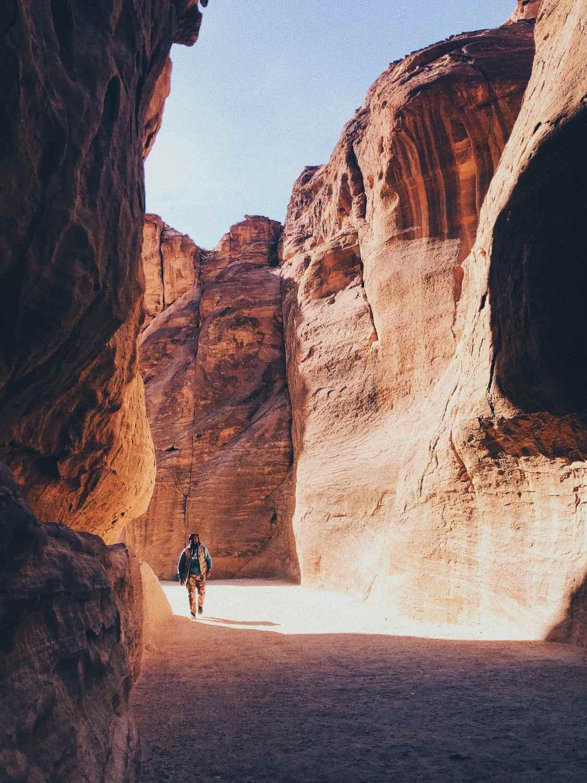 Ciudad Perdida Petra Jordania