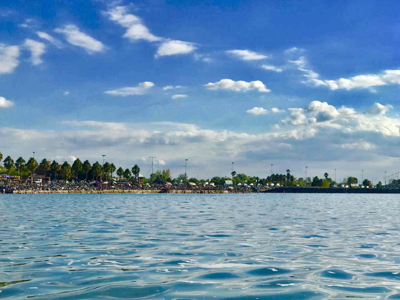 Laguna Miramar Ansenuza Cordoba