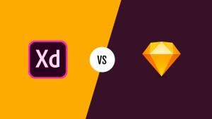 Adobe Xd versus Sketch