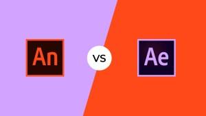 Wat is het verschil tussen Adobe Animate en Adobe After Effects?