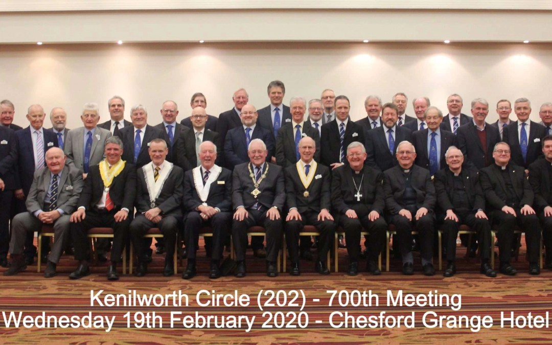 Kenilworth Circle 700th meeting