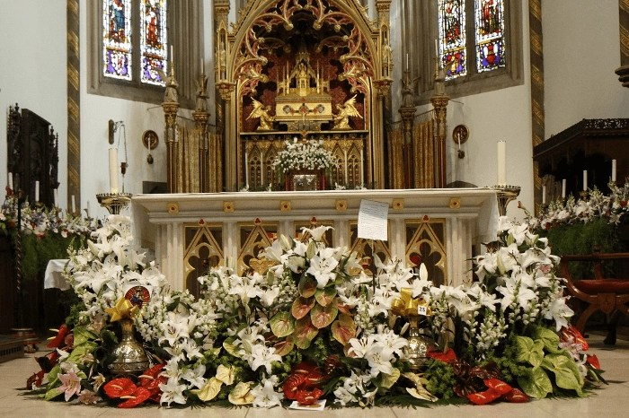 St Chad's Cathedral Flower Festival