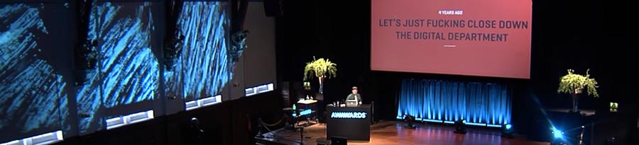 Conférence Awwwards de Bjarne Christensen-ressources web en divers blog Catepeli