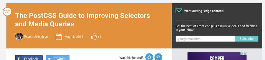 Un petit guide des post-css pour les principaux plug-ins-ressources web en divers-blog Catepeli