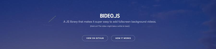Framework Bideo javascript pour la video - Ressource du blog de Catepeli