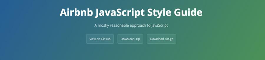 Style Guide JavaScript de Airbnb - ressource du blog de Catepeli
