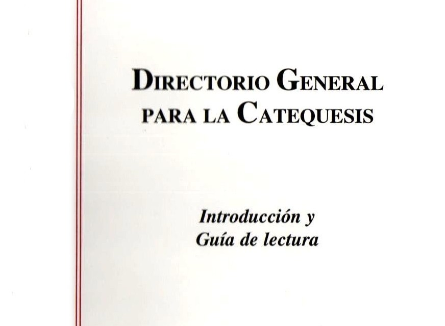 7. Directorio General para la catequesis