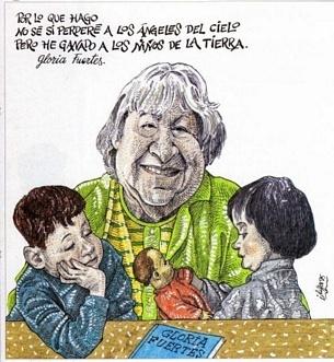 Los niños emigrantes de Gloria Fuertes