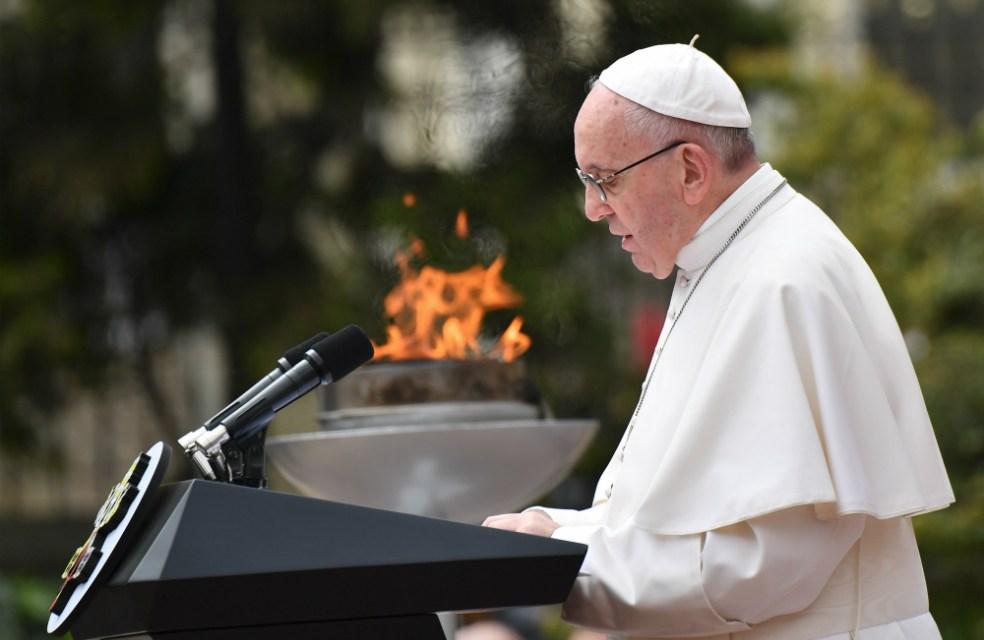 Francisco: Hay que conocer la verdad, pero no para vengarse, sino para perdonar