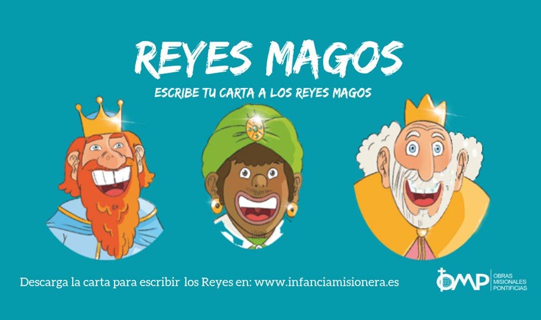 ¡Escribe tu carta a los Reyes Magos!