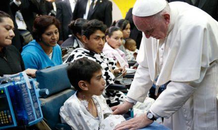 """Jornada Mundial del Enfermo con el lema""""Gratis habéis recibido, dad gratis"""" (Mt 10,8)"""