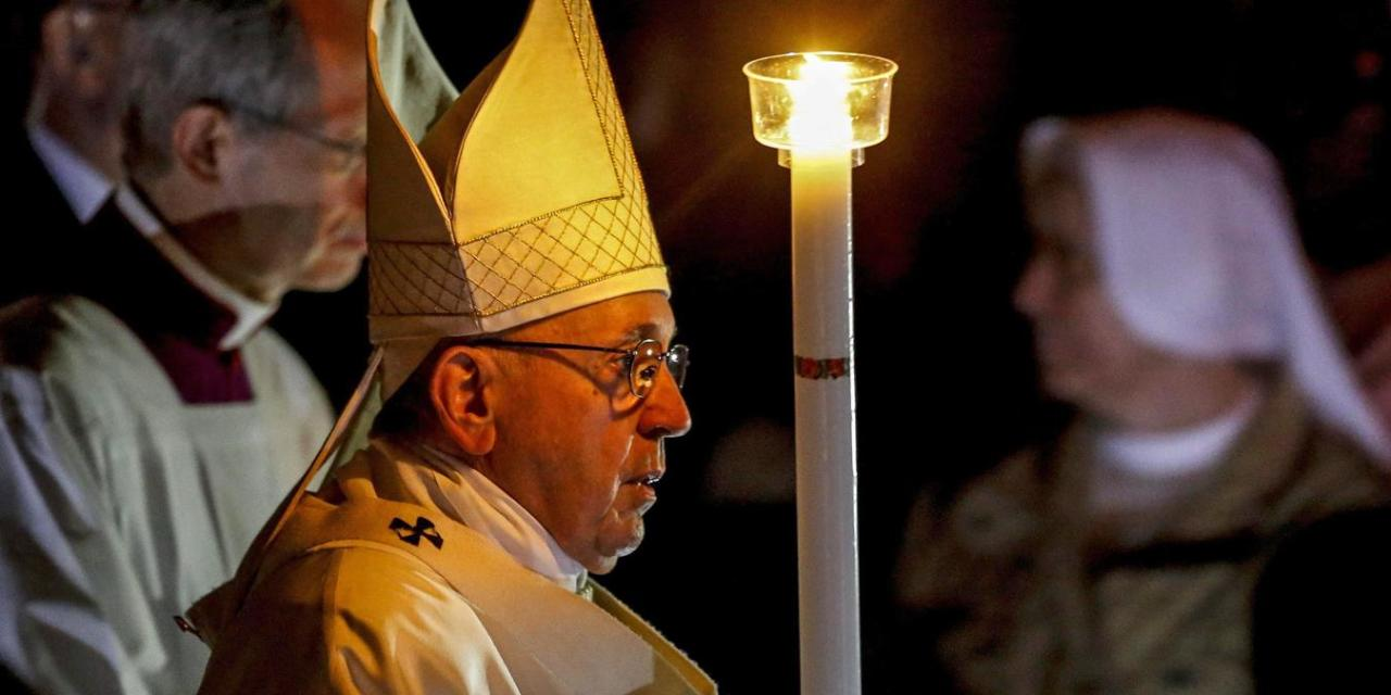 Vigilia Pascual, vigilia de la luz