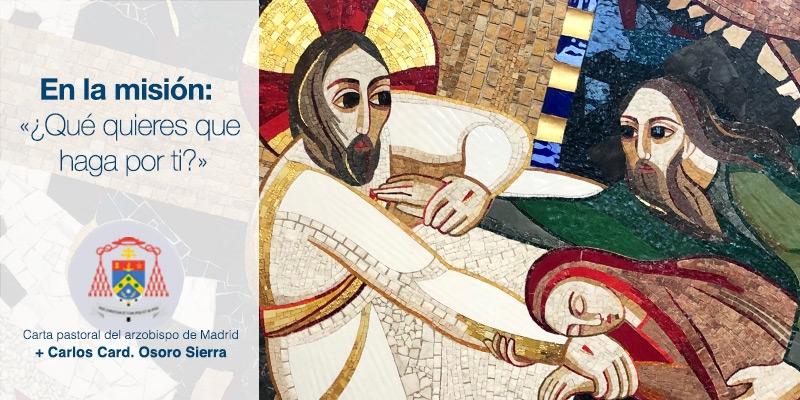 LA NUEVA CARTA PASTORAL DEL ARZOBISPO SE ENTREGARÁ EN EL ENCUENTRO DIOCESANO DE CATEQUISTAS