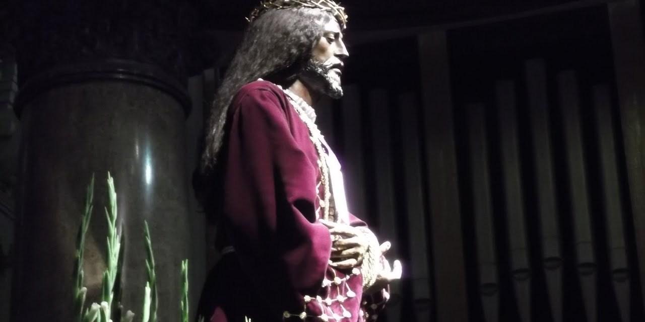 Salida procesional con la Imagen de Jesús de Medinaceli