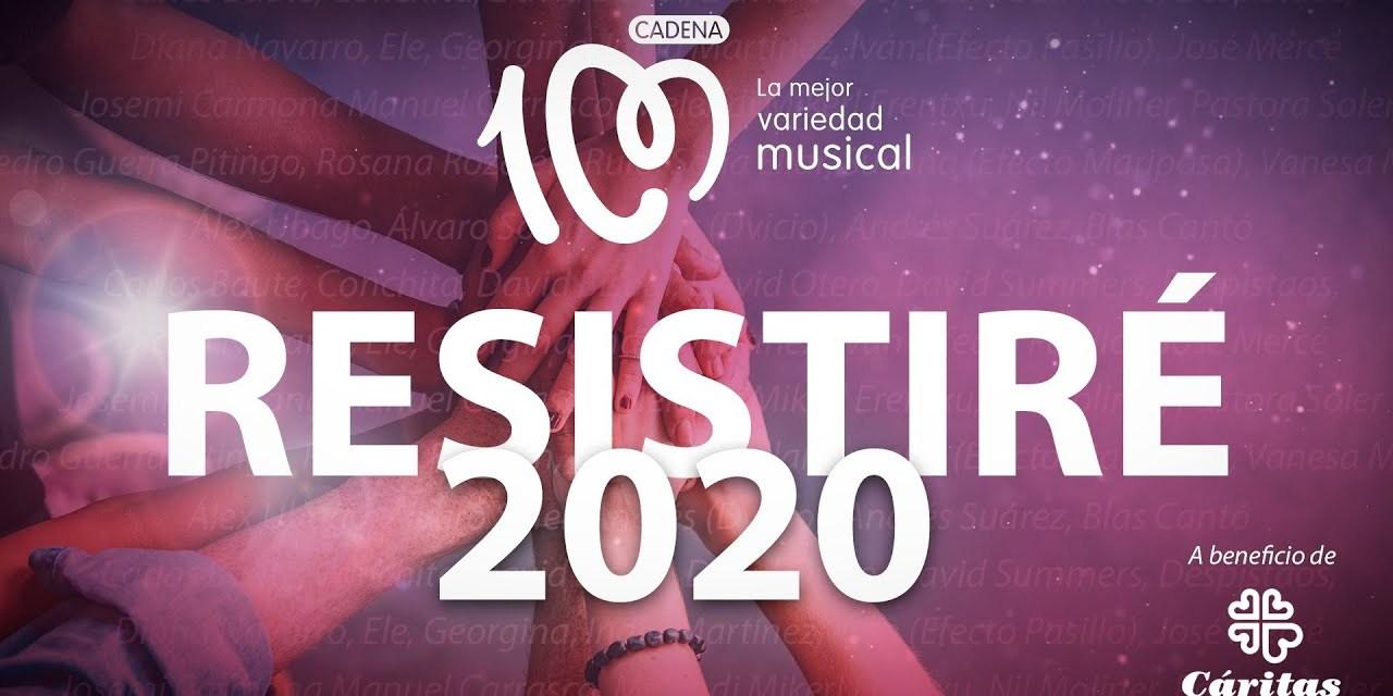 #Resistiré 2020, el himno grabado por más de 30 artistas para vencer juntos al coronavirus.