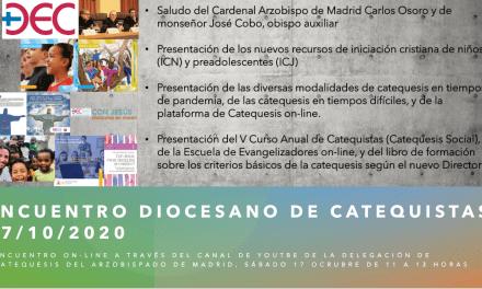 ENCUENTRO DIOCESANO DE CATEQUISTAS 2020