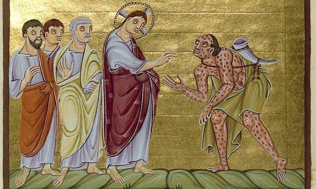 TOCAR A JESÚS