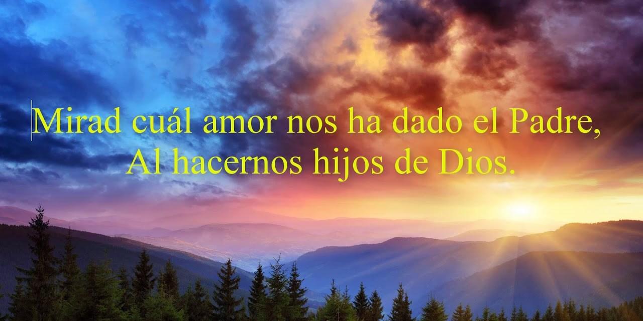 MIRAD QUE AMOR NOS TIENE DIOS (retiro espiritual con texto, audios y videos)