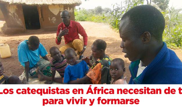 Ayuda a la Iglesia Necesitada con los catequistas de África