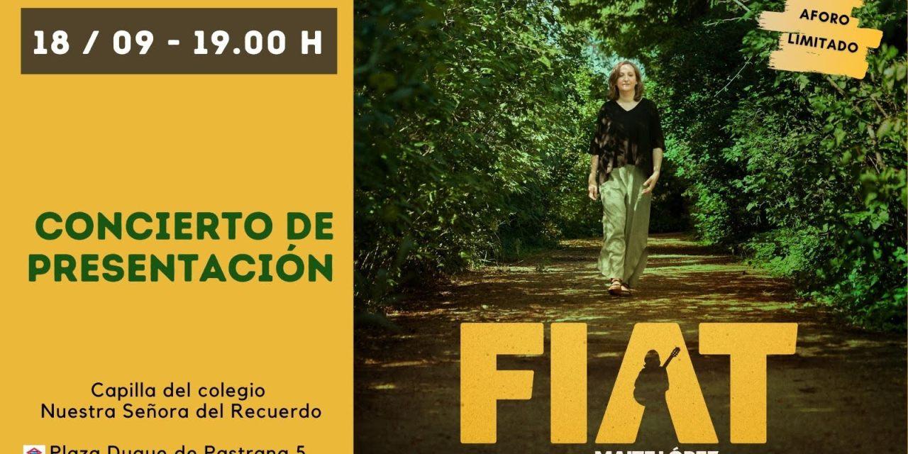 Presentación del disco FIAT de Maite López Martínez