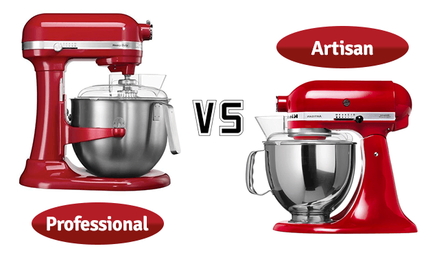 KitchenAid Artisan Food Mixer vs Professional Range