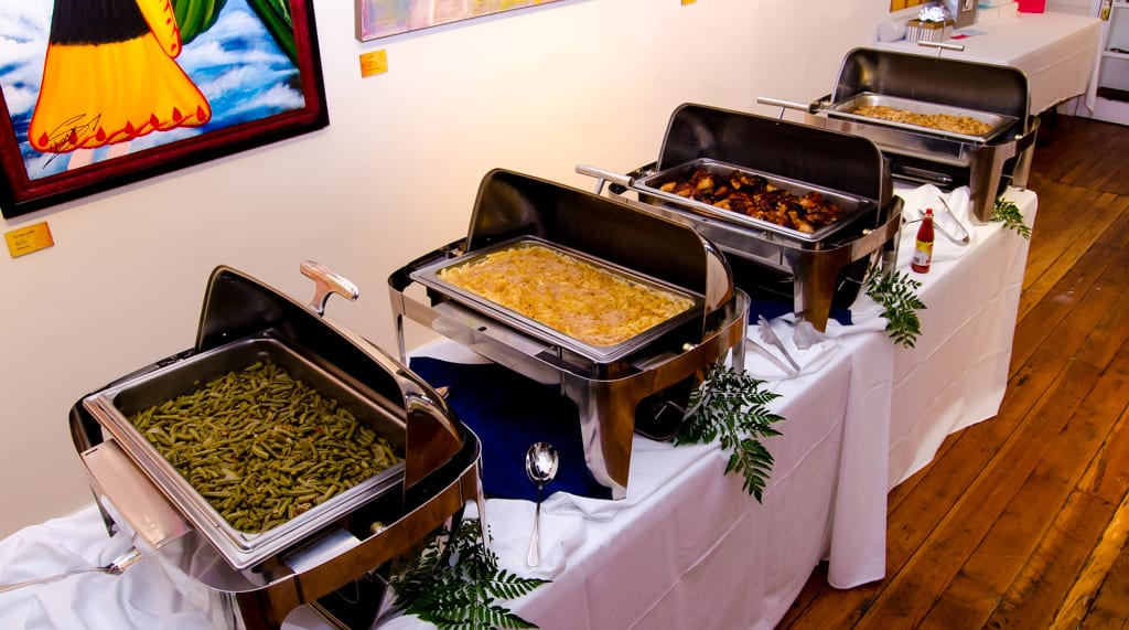 Spring Wedding Catering Raleigh NC