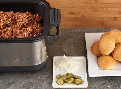 Recipe Slow Cooker BBQ Shredded Chicken — Recipes from The Kitchn