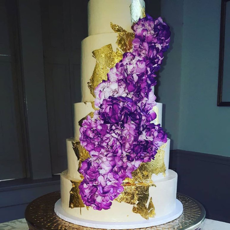 Custom Wedding Cakes by Catering by George