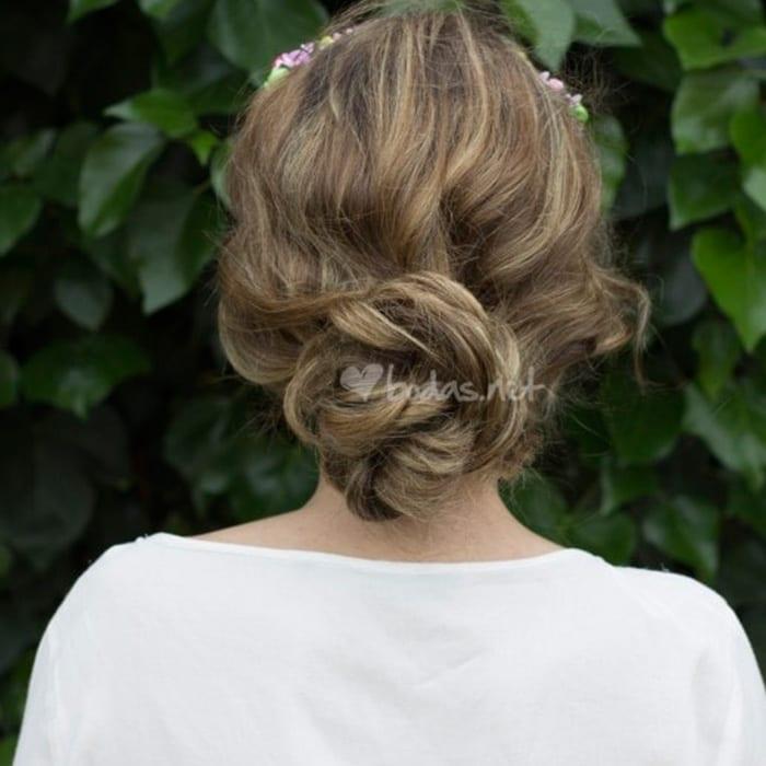 peinados para novias 25 recogidos bajos espectaculares - Peinados Bajos