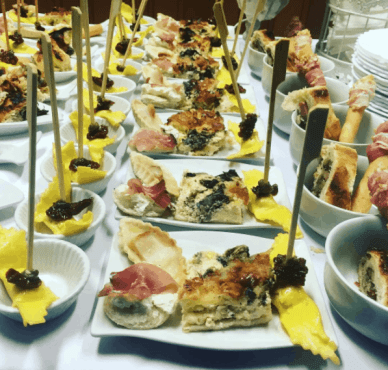 Aperitivi catering