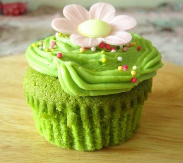 matcha muffins-