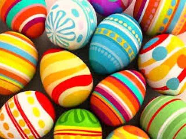 Caccia alle uova di Pasqua 1