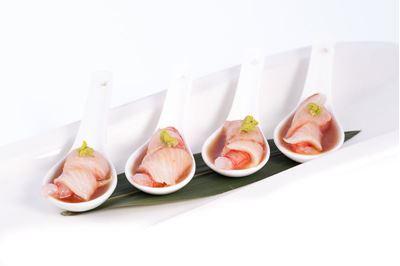 Dadini di ricciola marinati al lime