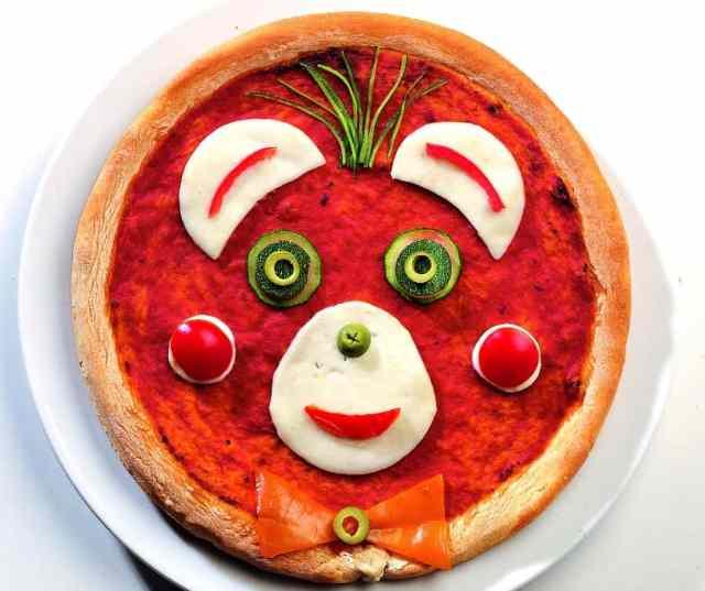 Pizza Pazza da fare con i bambini a casa