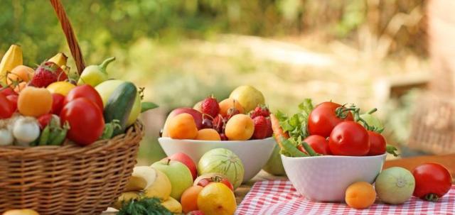 menu luglio scuola infanzia frutta