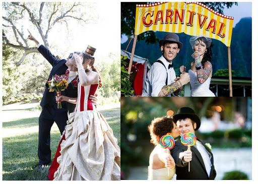 Matrimonio a Tema Circo 2