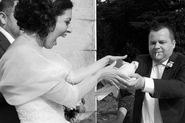 Matrimonio tradizionale italiano La colomba