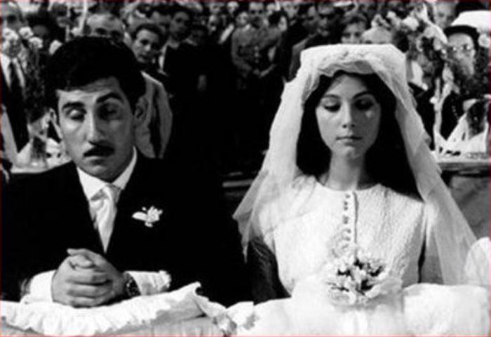 Matrimonio tradizionale italiano dal film