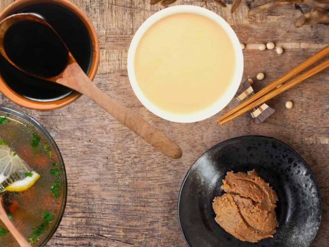 Zuppa di Miso pasta di miso