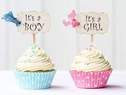Baby Shower Idee cupcake